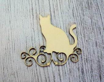 Cat 1098 wooden creations