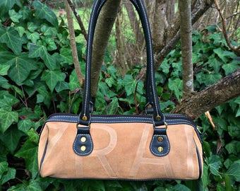 Tan Leather Purse / Beige Leather Handbag / Genuine Leather Purse / Small Leather Handbag / Genuine Leather Small Evening Purse