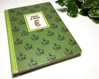 Vintage 1960s Disney's The World of Nature Book