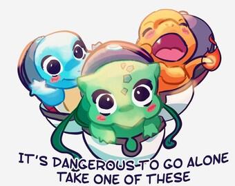 Pokemon starters stickers