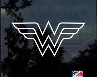 Wonder Woman Vinyl Window Decal Sticker