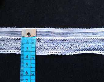 white lace stretch sewing customisation, lingerie, diy