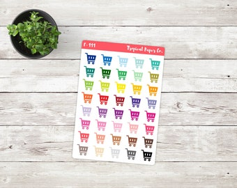 Shopping Cart Icon Stickers