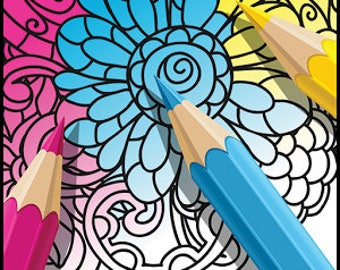 Adult Coloring & a little something for the kiddos