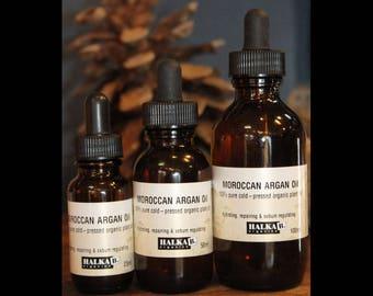 Organic Moroccan Argan Oil