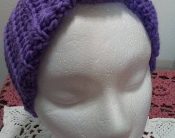 Crochet ear warmer or headband for girl