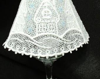 Wine Glass Light