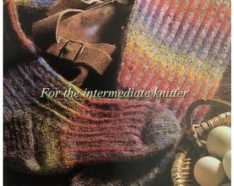 PDF Knit Rainbow Knee Socks