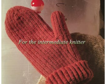 PDF Knit Wooly Bear Mittens