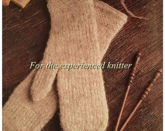 PDF Knit Two-End Mittens