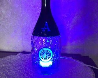 Inter logo lamp