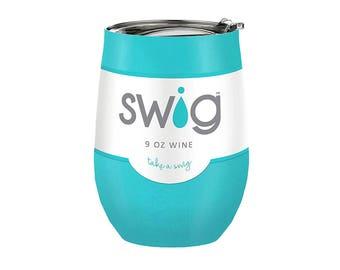 Swig Insulated Wine Cup - Ocean