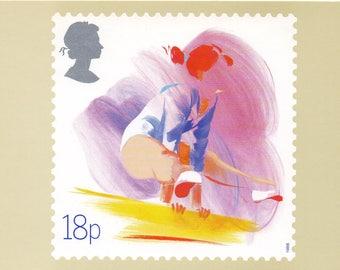 Sport, British Royal Mail postcards, 1988