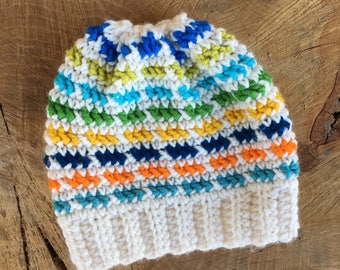 Child Crochet Slouch Hat
