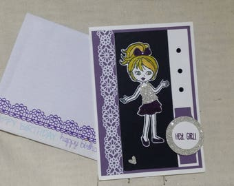 Birthday Card, Female Card, Celebration,