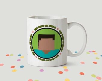 You Rock My World Ceramic Mug