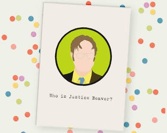 Dwight Shrute Unframed Print