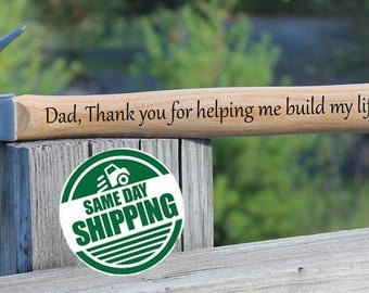 thank you dad, dad hammer gift, dad valentine, dad gifts from daughter, dad gifts from son, dad gifts from baby, valentines day gift for him
