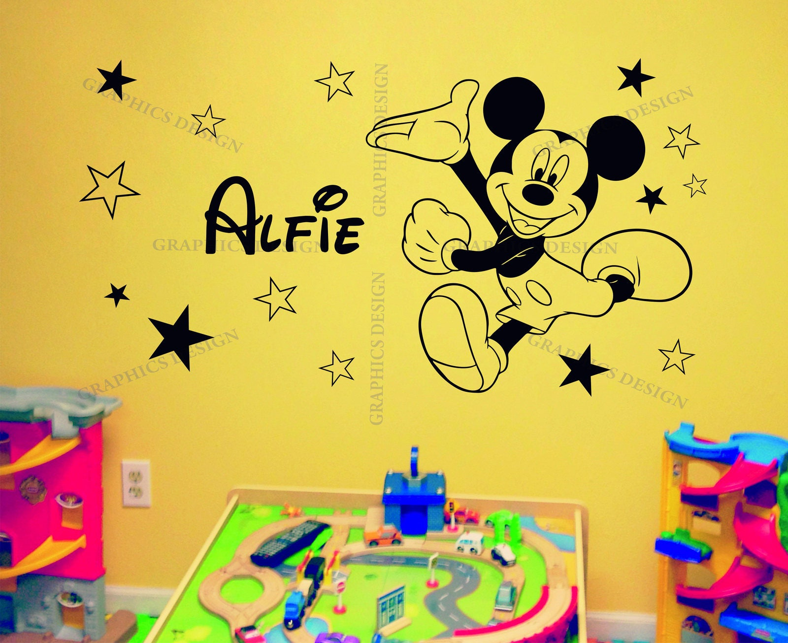 Best Disney Mickey Wall Decor Images - The Wall Art Decorations ...
