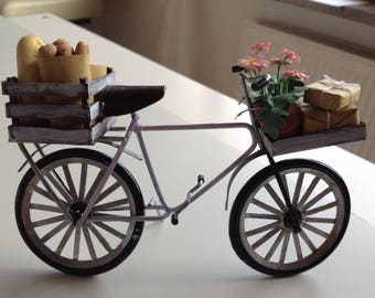 Bike in 1zu12 for the doll house, miniatures