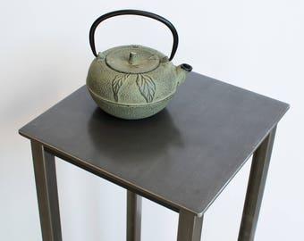 Welded Steel Side Table