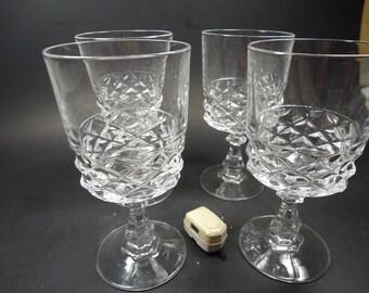 crystal stemware wine glasses