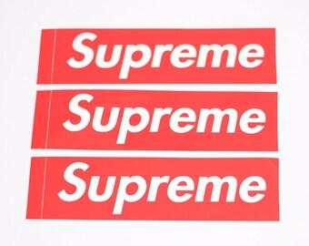 Supreme Box Logo | Etsy