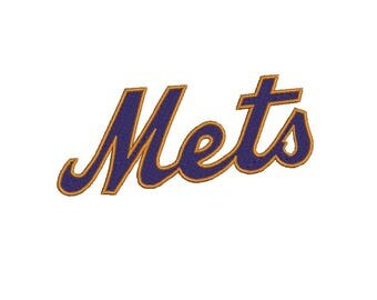 New York Mets Embroidery Design-9 Sizes-8 Formats-design instant download-machine embroidery
