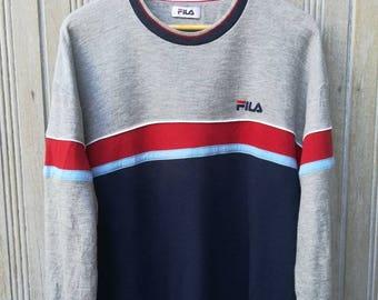 Vintage 90s Fila Sweatshirt Sportwear