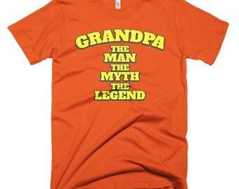 Grandpa Short-Sleeve T-Shirt