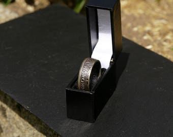 Half Crown Coin Ring (1920-1946)