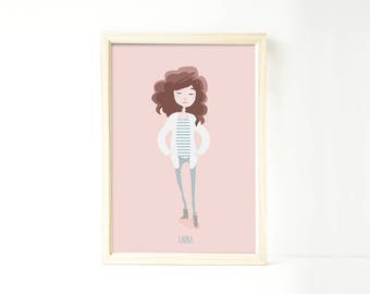 Custom portrait single, Custom couple illustration, personalized drawing, family illustration with pets, wedding gift, wedding portrait