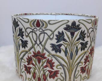 Art Deco Upholstery Fabric Lampshade Handmade Light Shade Lamp Handmade by Alice and Darcy