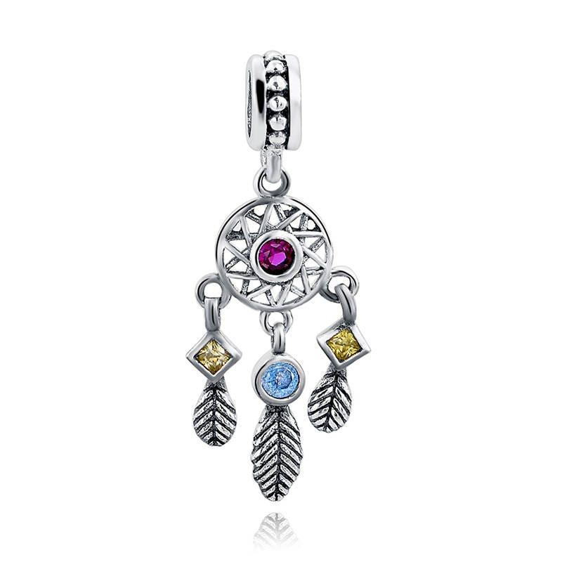 Fine Jewelry 100% Quality 925 Sterling Silver New Dark Blue Crystal Zircon Fashion Accessories Jewelry Making Fit Original Pandora Charms Bracelet Beads