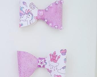 Unicorn fairytale bow