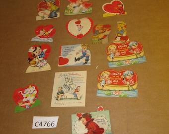Vintage Valentine Cards   [c4766o]