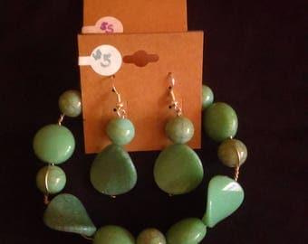 Funky turquoise set