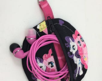 My Little Pony Round Zipper Pouch