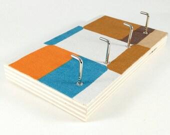 upcycling - keyholder towel rack towel holder