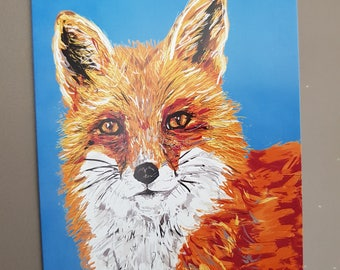 Cheeky fox card #birthday #Easter #Mother's day #thank you #thinking of you