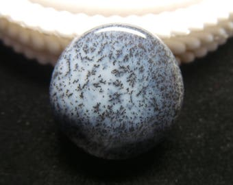 Dendrite opal  Rouand Designer Cabochon,Size-24x24x7 MM,Dendrite Opal AAA ,Loose Gemstone, Smooth Cabochons.