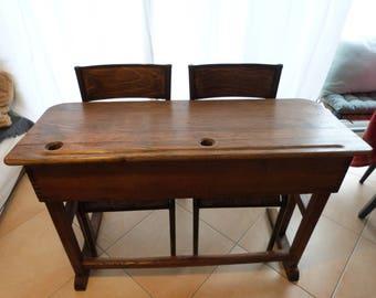 Old desk 2 seater