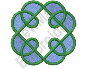 Celtic Knot Open Cross - Machine Embroidery Design