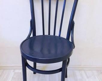 Vintage chair denim
