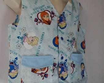 CLEARANCED! Size Med Weighted Vest for Child w/Special Needs and Sensory Issues. Frozen Print