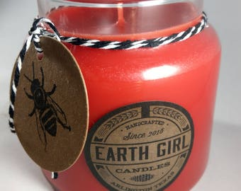 Hot Apple Pie / 16 oz. Container Candle / Custom Parasoy Blend