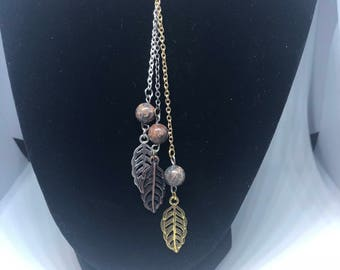 Feather Drop Necklace