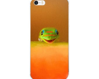 Hello! Lizard iPhone 5 case/ iPhone Case 6, 7 , 8, 8 plus/ Phone Accessories/ Original Photography/ Animal Lovers/Animal Guide/Spirit Animal