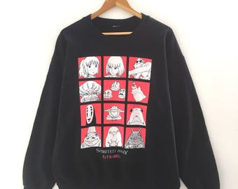 RARE!!! Spirited Away Vintage Sweatshirt