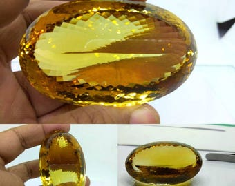 Natural Loose Gemstones Citrine Cut Stones